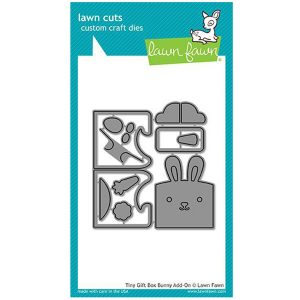Lawn Fawn Tiny Gift Box Bunny Add-On Lawn Cuts