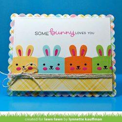 Lawn Fawn Tiny Gift Box Bunny Add-On Lawn Cuts