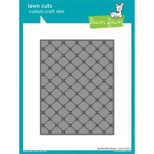 Lawn Fawn Quilted Backdrop