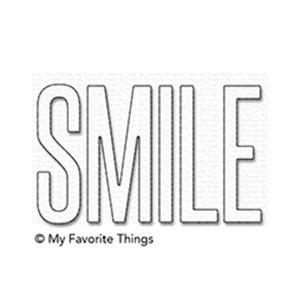 My Favorite Things Smile Die-namics