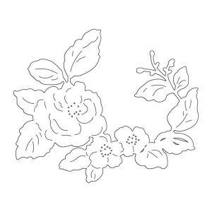Penny Black Floral Arrangement Creative Dies