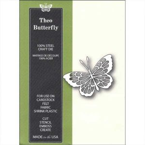 Poppystamps Theo Butterfly Die