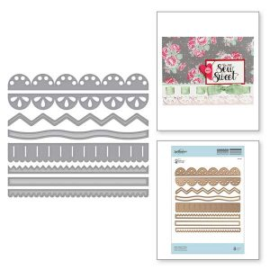 Spellbinders Sew Sweet Trims Die Set class=