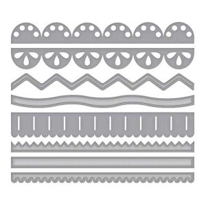 Spellbinders Sew Sweet Trims Die Set