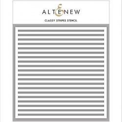 Altenew Classy Stripes Stencil