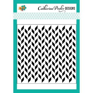 Catherine Pooler Designs Split Chevron Stencil