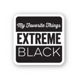 My Favorite Things Extreme Black Hybrid Ink Cube