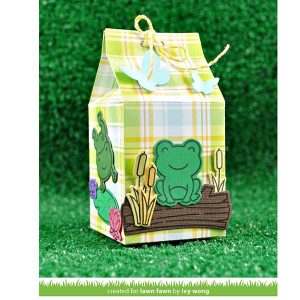 "Lawn Fawn Perfectly Plaid Spring Petite Paper Pack - 6"" x 6"" class="