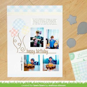 "Lawn Fawn Gotta Have Gingham Collection Pack - 12"" x 12"" class="