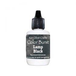 Ken Oliver Color Burst Watercolor Powder - Lamp Black