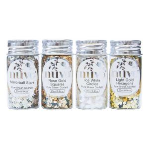 Nuvo Pure Sheen Confetti - Golden Years