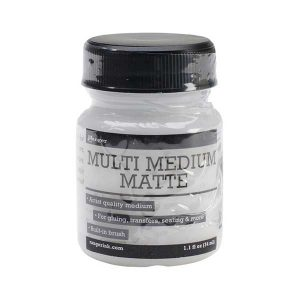 Ranger Multi Medium Matte - 1oz W/Brush Applicator class=