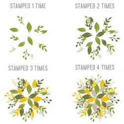 Concord & 9th Wreath Turnabout Stamp Set