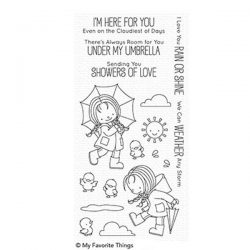 My Favorite Things BB Rain or Shine Stamp Set