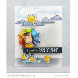My Favorite Things BB Rain or Shine Stamp Set