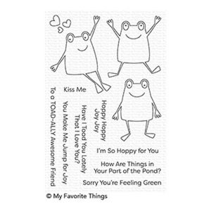My Favorite Things Toad-ally Awesome Stamp Set