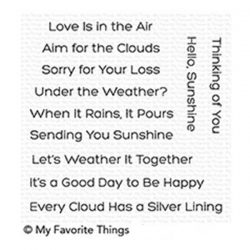 My Favorite Things Aim For The Clouds Stamp Set
