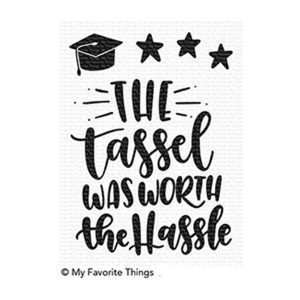 My Favorite Things Tassel Time Stamp Set
