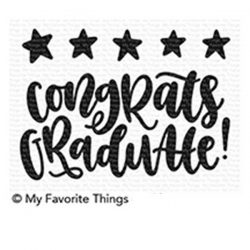 My Favorite Things Star Graduate Stamp Set