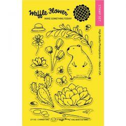 Waffle Flower Summer Time Stamp Set