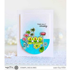 Waffle Flower Toadally Stamp Set class=