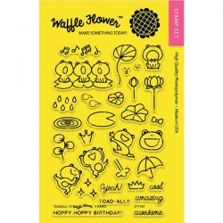 Waffle Flower Toadally Stamp Set