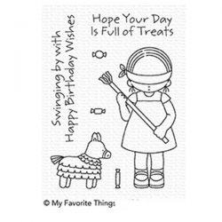 My Favorite Things Pure Innocence Birthday Piñata Stamp Set