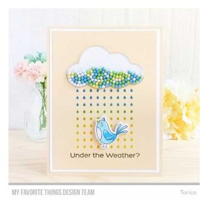 My Favorite Things Cloud Shaker Window & Frame Die-namics class=