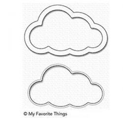 My Favorite Things Cloud Shaker Window & Frame Die-namics