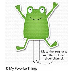 My Favorite Things Toad-ally Awesome Stamp Set class=