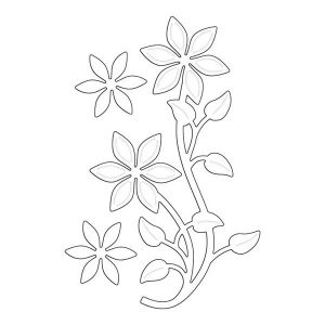 Penny Black Flower Flourish Creative Dies