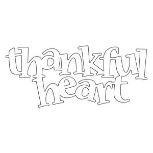 Penny Black Thankful Heart Creative Dies