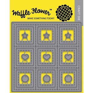 Waffle Flower 9 Grids Die