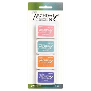Wendy Vecchi Mini Archival Ink Pads – Kit #3