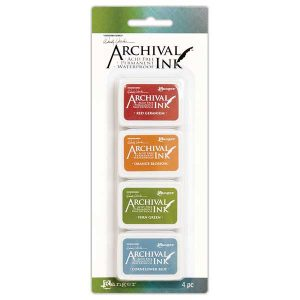 Wendy Vecchi Mini Archival Ink Pads – Kit #4