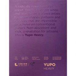 Yupo Paper Pad – White, HEAVY - 9″ x 12″