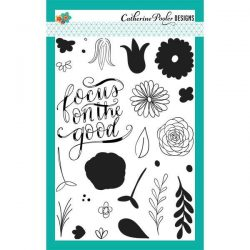 Catherine Pooler Focus On The Good Floral Stamp Set