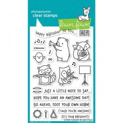 Lawn Fawn Critter Concert Stamp Set