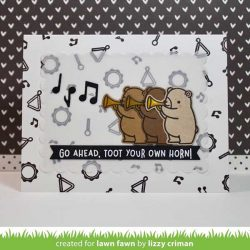 Lawn Fawn Little Music Notes Lawn Cuts