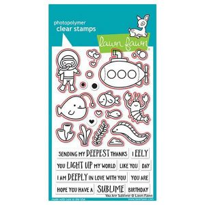 Lawn Fawn You Are Sublime Stamp Set class=
