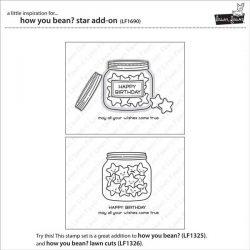 Lawn Fawn How You Bean? Star Add-On Lawn Cuts