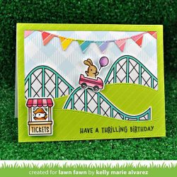 Lawn Fawn Coaster Critters Slide On Over