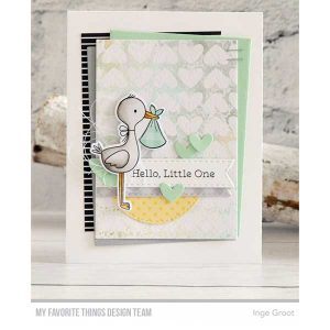 My Favorite Things Hello Little One Stamp Set class=