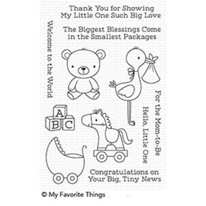 My Favorite Things Hello Little One Stamp Set