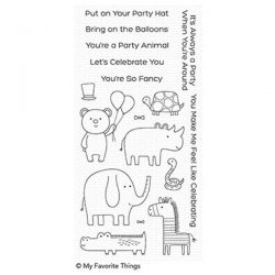 My Favorite Things Safari Party Stamp Set