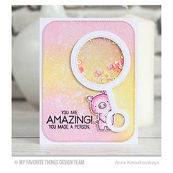 My Favorite Things LLD Welcome, Baby Stamp Set