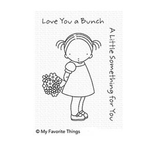 My Favorite Things Pure Innocence Love You a Bunch Stamp Set