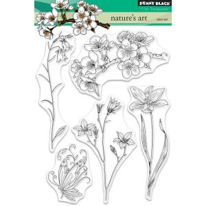 Penny Black Nature's Art Stamp Set
