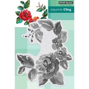 Penny Black Garden Gems Slapstick/Cling Stamp