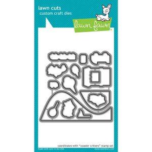 Lawn Fawn Coaster Critters Lawn Cuts